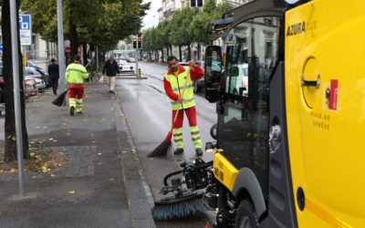 Cost of urban cleanliness: impressive differences between cities